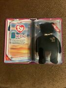 Ty Beanie Baby The End The Bear 1999 With Rare Flat Tush Tag And With Errors
