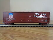 Mth 20-93197 50' Dbl. Door Plugged Boxcar - Up Red Trucks No. 170652 - 3 Rail