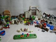 Playmobil Farm Lot Horse Goat Sheep People Donkey Guinea Pig Accessories