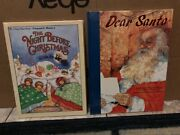 The Night Before Christmas - Big Golden Book And Dear Santa Both Are New-sealed