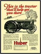 Huber Super 4 Tractors Vtg. Look 12andrdquo X 16andrdquo New Metal Sign. Marion Ohio