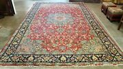 9and0397x15and0397 Antique C1920 Hand-knotted Pers. Kurdish Tabrizi Tribal Fine Wool Rug