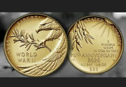 Confirmed End Of World War Ii 75th Anniversary 24-karat Gold Coin In Hand
