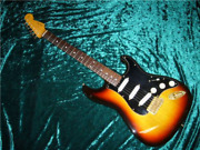 Fender Japan St62g-80tx 3ts Stratocaster Stevie Ray Vaughan Electric Guitar