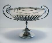 Hamilton And Co. Indian Colonial Solid Silver Arts And Crafts Tazza Dish Bowl Cup