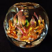 Caithness Glass 1 Of A Kind Paperweight 1of1 Designer, Creator Franco Toffolo
