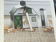 New Hearth And Hand With Magnolia Wooden Farm Set Dollhouse Kids Toy Childs 24-pcs