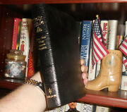 Very Rare President Ronald Reagan Leather Gift Bible