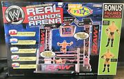 New In Box Jakks Wwe Real Sounds Arena W/ Figures Toysand039rand039us Exclusive Wrestling
