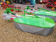 New Talex Twin Drum Mower 1.85 Metre 6ft New Stock Now Arrived