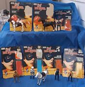 1980 Gabriel The Lone Ranger Complete Collection Action Figure Lot + Cardbacks