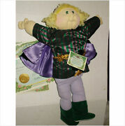 Cabbage Patch Soft Sculptured Doll 1987 Ed Charming Blond Boy Papers