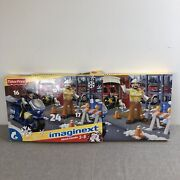 Fisher Price Imaginext 2011 Christmas Advent Calendar Rare Firefighter Police