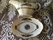 Reduced Price - Vintage Furnivals 1913 China, 3 Pieces. Fair To Good Condition
