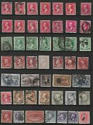 47 Us 19th Century Stamps 65 - 3andcent Wash 184 - 3andcent Washington 286 - 2andcent Farming