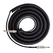 Lava Cable Retro Coil Instrument Guitar/bass Cable Straight Black - 20ft