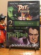 Pit And The Pendulum/tales Of Terror Dvd, 2012, 2-disc Set Brand New Sealed