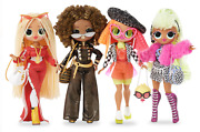 4 Pack - L.o.l. Surprise Omg Fashion Dolls Swag Lady Diva Neonlicious Royal Bee