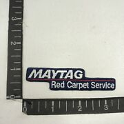 Appliances Washers Commercial Laundry Maytag Red Carpet Service Ad Patch 00te