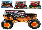 Hot Wheels Metal Monster Jam Grave Digger 124 Scale Diecast Car 3+ Toy Race