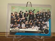 Miami Marlins - Mlb Topps Now Card 359 - Sweep Blue 08/49 Foil Parallel