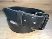11/2and039and039 38mm Snap On Heavy Duty Work Belt For Buckles Real Strong Leather K11 G2