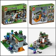 🔥lego Minecraft The Zombie Cave 21141 Building Kit With Popular Minecraft 🔥