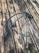 Lot Set Of 4 Vintage Wrought Iron Hand Forged Rustic Planter Hook Wall Hangers