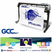 Gcc Iv P4-132 Vinyl Cutter For Sign And Htv 52andrdquo 132 Cm Free Shipping