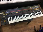 【used】roland Juno-60 Synthesizer Used U41492 No Problem For Normal Use 432