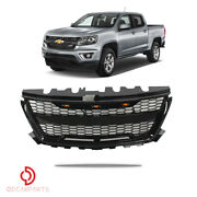 Fits Chevrolet Colorado 2015-2019 Front Upper Grille Raptor Style Gloss Black