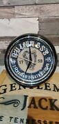 Retro Vintage Guinness Lager Beer Wall Clock Man Cave Bar