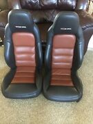 2007-2011 Corvette C6 Z06 Seats Pair Left Right Driver Passenger Black