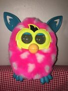 Rare Furby Baby 2012 Sleepy Pink Green Yellow - French Speaking Francais