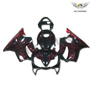 Fairing Red Flame Injection Fit For Honda 2001-2003 Tank Cover Cbr600f4i K055