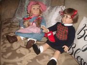 American Girl Dolls Molly Mcintire And Kirsten Larson 2 Of 1st 3 Made