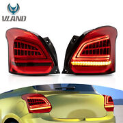 Led Sequential Taillight Turn Singal Lamp For Rain Swallow 2017-2021 Us Stock