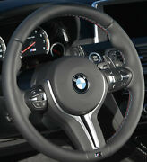 Bmw Oem F10 M5 F06 F12 F13 M6 Heated Steering Wheel Tri-color Rim And Cover Only