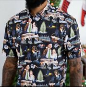 Rsvlts Christmas Vacation Family Portrait Xlarge Xl Short Sleeve Shirt Sold Out