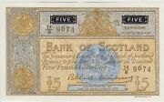 P103 Bank Of Scotland 1961 Note In Mint Condition