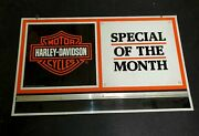 Harley Davidson Motorcycle Sign..see My Other Porcelain Neon Signs