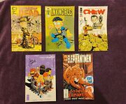 Invincible 98 Walking Dead 103 Chew 29 Morning Glories And Elephantmen Variant