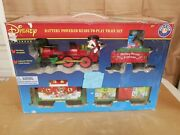 Lionel Mickey Mouse Express Disney G-gauge Christmas Train Set 7-11773 Read