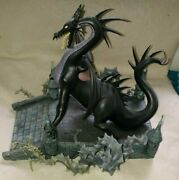 Wdcc - Maleficent - As The Dragon - And Now You Shall Deal With Me - Le