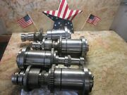Shizuoka B-3v 410 Cnc Vertical Mill Z Axis Head Spindle Cartridge Lot Of 3 Piece