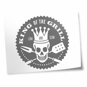 8x10 Printsno Frames - Bw - Bbq King Of The Grill Barbeque 40205