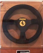 Momo Ferrari Back F1 Steering Wheel Collection Formula 1 S/n 063 With Case