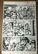 Savage Sword Conan 144 1988 Original Comic Page Ernie Chan Red Sonja Netflix