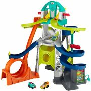 New Little People Launch And Loop Raceway Vehicle Playset For Toddlers Preschool