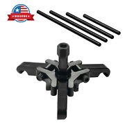 Harmonic Balancer Puller Crank Pulley Removal Tool Kit Fit For Ls Lq Gm Engine